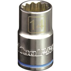 ToolPro Single Socket - 1 / 2 inch Drive, 14mm, , scanz_hi-res