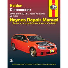 Car Manual For Holden Commodore 2006-2012, , scanz_hi-res