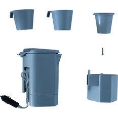 SCA Car Kettle - Grey, 2 Cups, 12V, , scanz_hi-res