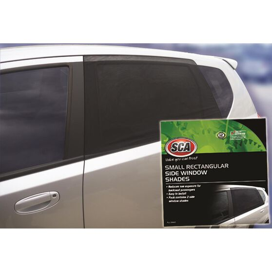 SCA Window Shade Side Small Rectangular Black Pair, , scanz_hi-res