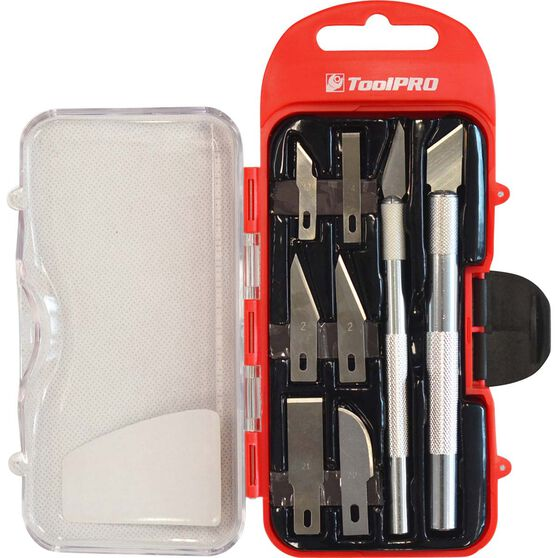 ToolPRO Hobby Knife Set - 8 Pieces, , scanz_hi-res