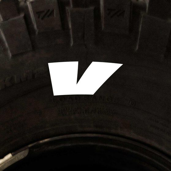 Tire Stickers - Letter V, , scanz_hi-res