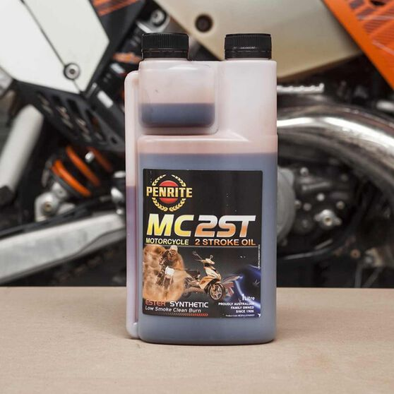 Penrite MC-2 Synthetic Motorcycle Oil - 1 Litre, , scanz_hi-res