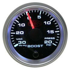 SAAS Boost Gauge - Black, 52mm, , scanz_hi-res
