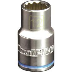 ToolPro Single Socket - 1 / 2 inch Drive, 12mm, , scanz_hi-res