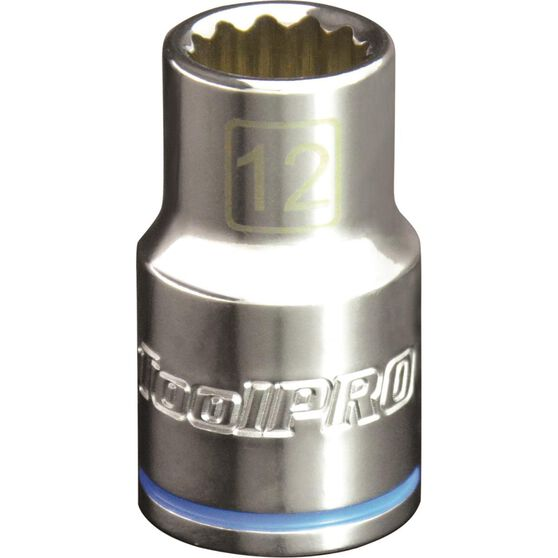 ToolPro Single Socket - 1 / 2 inch Drive, 12mm, , scanz_hi-res