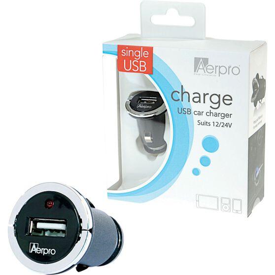 Aerpro USB Charger - 12V /24V, 2.1AMP, , scanz_hi-res