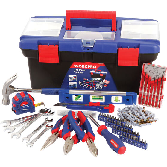 WORKPRO Tool Kit - 170 Piece, , scanz_hi-res