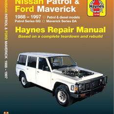Haynes Car Manual For Nissan Patrol / Ford Maverick 1988-1997 - 72760, , scanz_hi-res