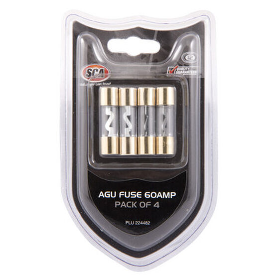 SCA Audio Fuse - 60Amp, 4 Pack, , scanz_hi-res