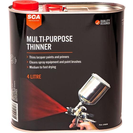 SCA Multi-Purpose Thinner 4 Litre, , scanz_hi-res