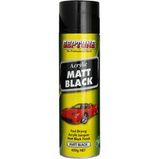 Septone Acrylic Aerosol Paint - Matt Black, 400g, , scanz_hi-res