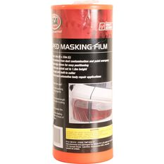 SCA Taped Masking Plastic Film - 1.8m x 33m, , scanz_hi-res