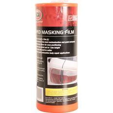 SCA Taped Masking Plastic Film - 1.8m x 33m, , scanz_hi-res