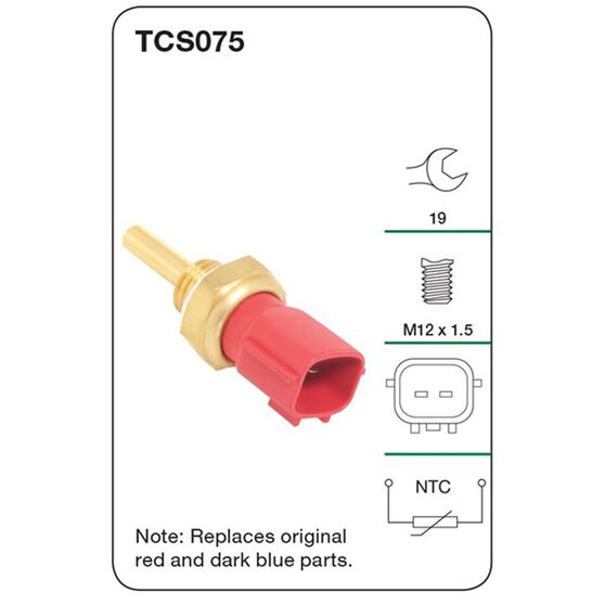 Tridon Coolant Temperature Sensor - TCS075, , scanz_hi-res
