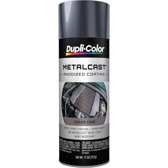 Dupli-Color Metalcast Aerosol Paint - Enamel, Smoke Grey Anodised, 311g, , scanz_hi-res