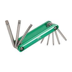 SCA Folding Hex Key Set - Torx, 8 Pieces, , scanz_hi-res