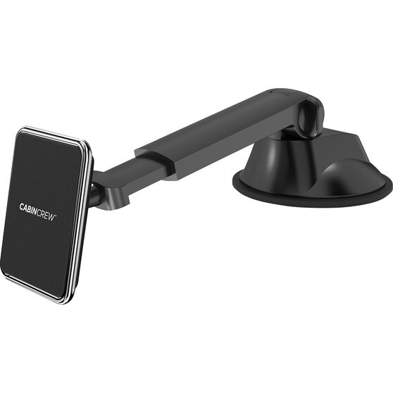 Cabin Crew Phone Holder - Suction Mount, Magnetic, Black, , scanz_hi-res