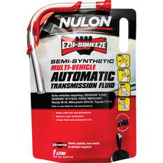 Nulon EZY-SQUEEZE Multi-Vehicle Automatic Transmission Fluid 1 Litre, , scanz_hi-res