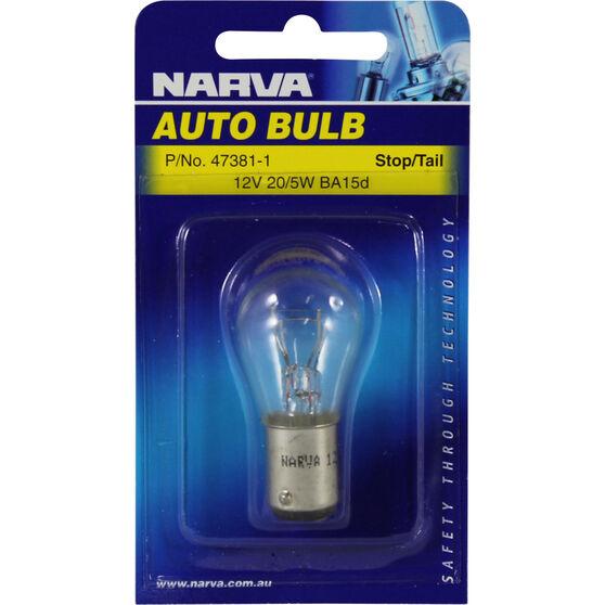 Narva Bulb - 12V, 20/5W, BA15d, , scanz_hi-res