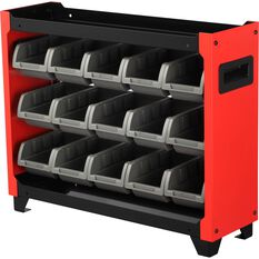 ToolPRO Stackable Bin Storage - 15 Compartment, , scanz_hi-res