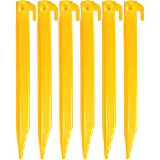 Ridge Ryder Tent Pegs - Plastic, 225mm , 6 Pack, , scanz_hi-res