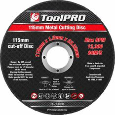 ToolPRO Metal Cut Off Disc - 10 Pack, , scanz_hi-res