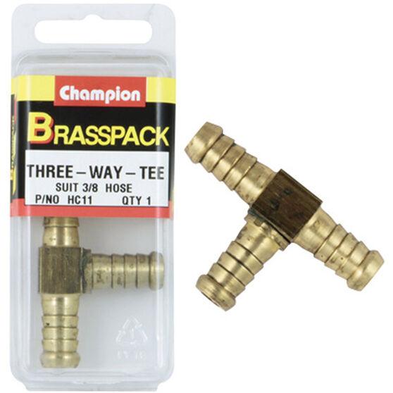 Champion Hose Joiner - 3 / 16inch, Brass, , scanz_hi-res