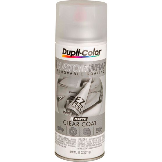 Dupli-Color Aerosol Paint Custom Wrap - Matte Clearcoat, 311g, , scanz_hi-res