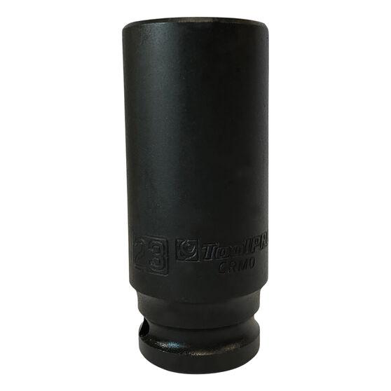 """Impact Socket Deep 1/2"""" Drive 23mm, , scanz_hi-res"""