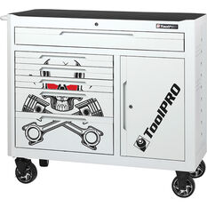 ToolPRO Tool Cabinet Skull 6 Drawer 42 Inch, , scanz_hi-res
