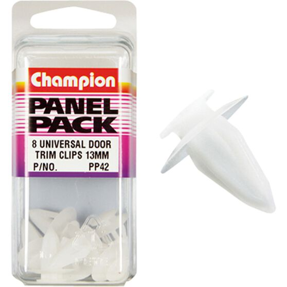 Champion Door Trim Bush - 13mm, PP42, Panel Pack, , scanz_hi-res