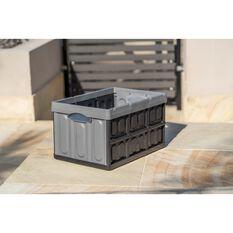 ToolPRO 45 Litre Plastic Folding Storage Box, , scanz_hi-res