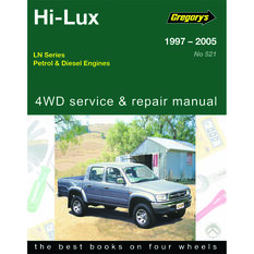 Car Manual For Toyota Hilux 1997-2005 - 521, , scanz_hi-res
