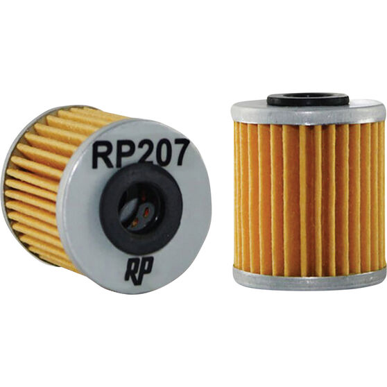 Race Performance Motorcycle Oil Filter RP207, , scanz_hi-res