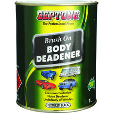 Septone Body Deadener Paint - Black, 1 Litre, , scanz_hi-res