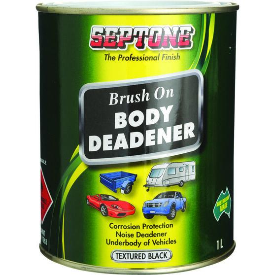 Septone Body Deadener Paint - Black, 1 Litre, , scanz_hi-res