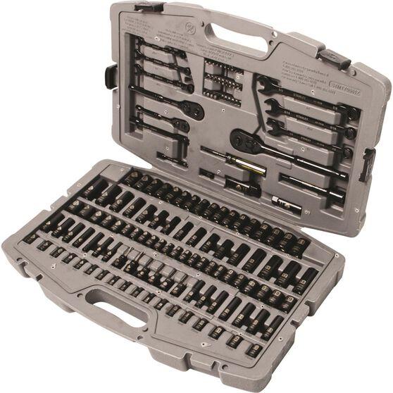 Socket & Spanner Set - 1/4/1/2/3/8 Drive, 140 Piece, , scanz_hi-res