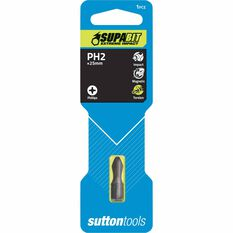 Sutton Torsion Insert Workshop Impact Bit #2 - 25mm, , scanz_hi-res