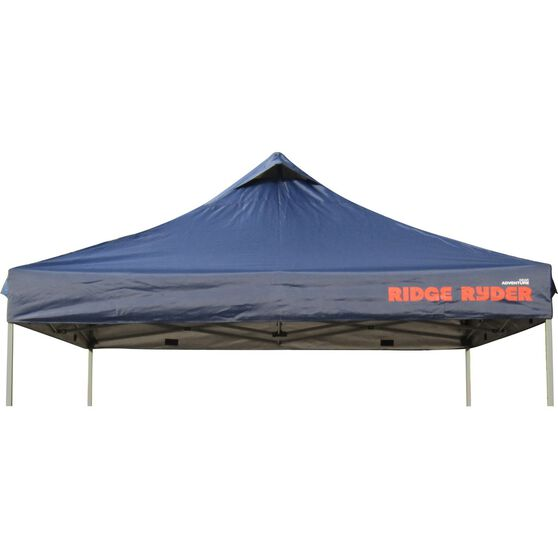 Ridge Ryder Deluxe Gazebo Replacement Top - Blue, 3 x 3m, , scanz_hi-res