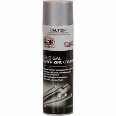 SCA Cold Gal Silver Zinc Coating 400g, , scanz_hi-res