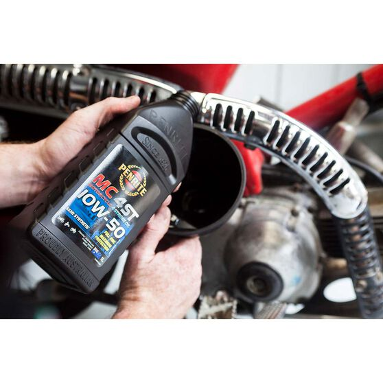 Penrite MC-4 Semi Synthetic Motorcycle Oil - 10W-50, 1 Litre, , scanz_hi-res