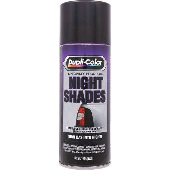 Dupli-Color Night-Shades Aerosol Paint Black 283g, , scanz_hi-res