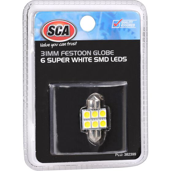 SCA Interior Globe 6 SMD LED - Super White, , scanz_hi-res