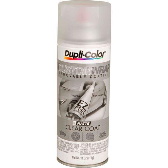 Dupli-Color Aerosol Paint Custom Wrap - Matte Clearcoat, 311g, , scanz_hi-res