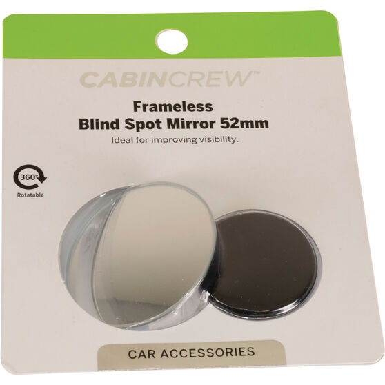Cabin Crew Blind Spot Mirror - Aluminium , 52mm, , scanz_hi-res