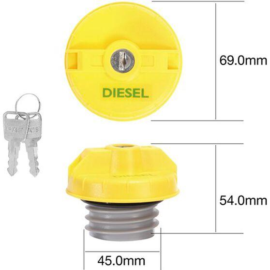Tridon Locking Fuel Cap - TFL234D, , scanz_hi-res