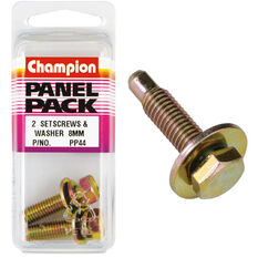 Champion Screws and Washers - 8mm, Panel Pack, , scanz_hi-res