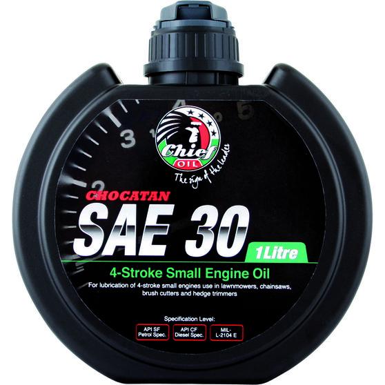 Chief Chocatan Small Engine Oil - SAE 30, 1 Litre, , scanz_hi-res