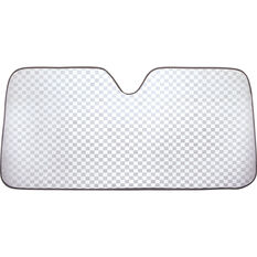 SCA Bubble Sunshade - Check Glitter, Accordion, Front, , scanz_hi-res